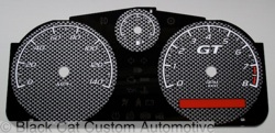 Pontiac G5 Carbon Fiber Design Gauge Face