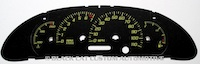 00-05 Sunfire Custom Gauge Face