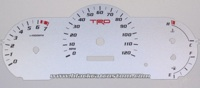 2005-2010 Toyota Tacoma Custom Gauge Face