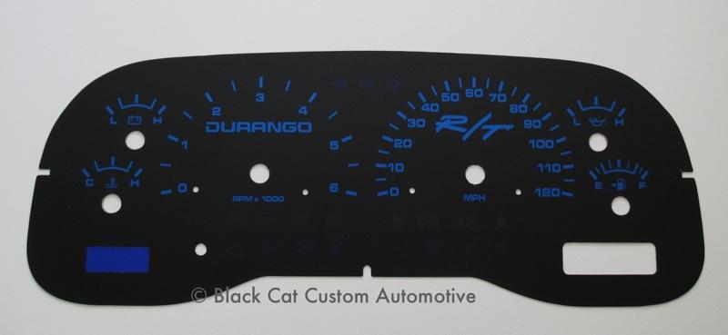 Special Durango Black Blue on 1997 Dodge Dakota Custom