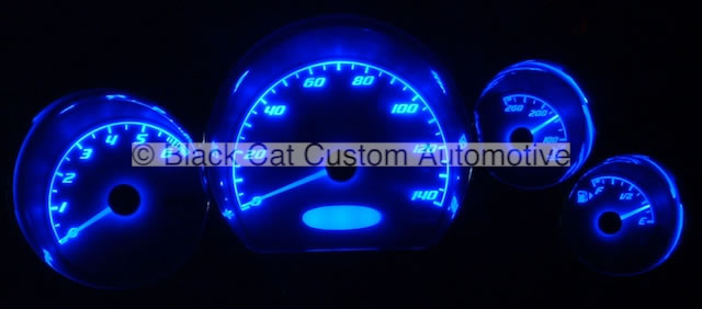 Pontiac G6 Blue Lighting