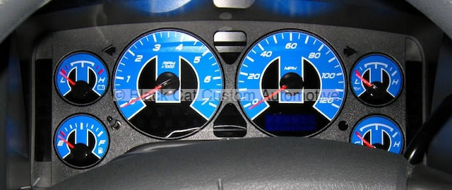 Black Cat Custom Automotive Gauge Faces For All Makes