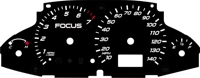 00-07 Ford Focus Gauge Face
