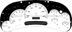 03-05 GM Full Size Truck HD Gauge Face
