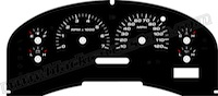 2004-2008 Ford F150 XLT Gauge Face