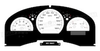 2004-2008 F150 King Ranch-HarleyD-Lariat Gauge Face