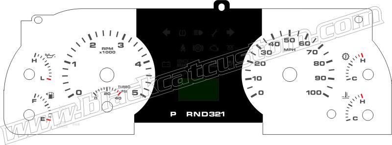 black cat custom automotive ford f250 f350 excursion gauge 03 f250 gauge pod 2005 f250 gauge diagram #5