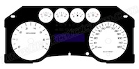 2009-2010 Ford F150 Gauge Face