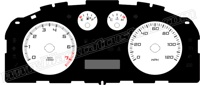 2008-2010 Ford Focus Gauge Face