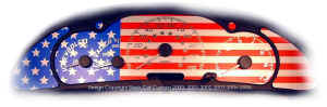 2k Cav USA Flag Custom Gauge Face