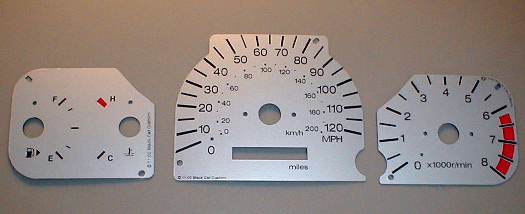 1999 2001 galant gauge face mph 8500 usd