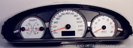 03-07 Saturn Ion Edge Style Gauge Face