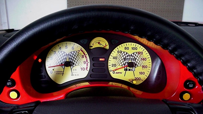 ... Cat Custom Automotive - Dodge Stealth / Mitsubishi 3000GT Gauge Faces