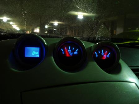 Black Cat Custom Automotive Nissan 350z Gauge Faces