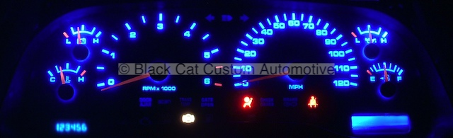Black Cat Custom Automotive - Dodge Ram Truck Gauge Faces