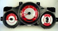 Element Red Pearl Gauge Face