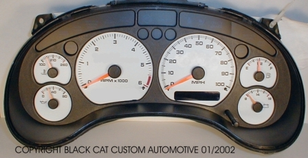 Black cat custom automotive chevy s10 xtreme blazer gauge 98 05 s10xtremes15jimmyblazersonoma 100mph v6 gauge cluster not included freerunsca Images