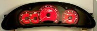 Cavlier Z24 Red Ecotec Chrono Custom Gauge Face